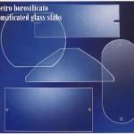 vetro piano borosilicato